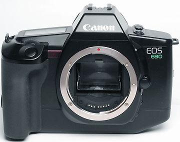 canon eos 630 af slr camera index page