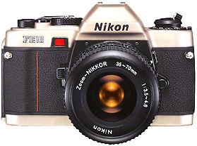 Used Nikon FE10 35mm SLR Film Camera - Studentphotostore - The ...